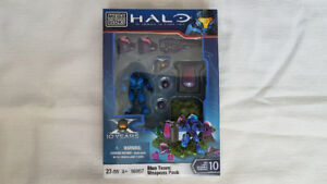 Brand New/Rare - HALO - Blue Team: Weapons Pack - 96957