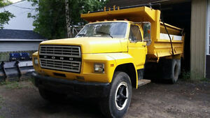 Camion 6 Roues Dompeur Ford F600