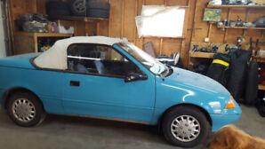 1991 Chevy Sprint Convertible