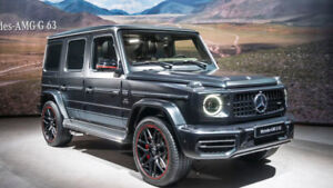 Paying high dollars to purchase Mercedes G 63 GLS450,Range Rover
