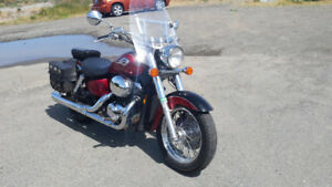 2002 American Classic Honda Shadow Ace Well maintained