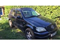 Mercedes ml320 7 seater