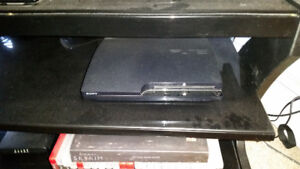 PS3 with Games and controlers