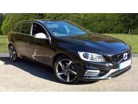 2016 Volvo V60 D4 (190) R DESIGN Lux Nav 5dr Manual Diesel Estate