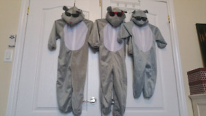 3 Blind mice / mouse costumes