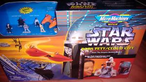 Star Wars Micromachines BOBA FETT/CLOUDY CITY