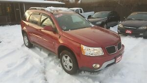 2007 PONTIAC TORRENT SUV *** LOADED / SUNROOF *** CERT $4995