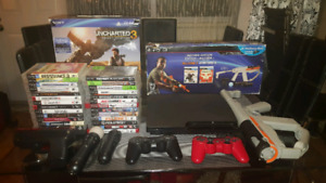 PS3- $375- BEST PS3 ON KIJIJI- 33 GAMES AND MUCH MORE