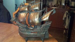 Lampe bateau antiquité