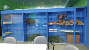 Large display cabinets for $1250 obo