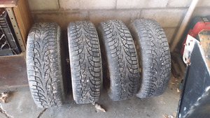 4 winter tires off 01 Honda civic
