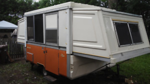 Apache camper hard side trailer Mesa