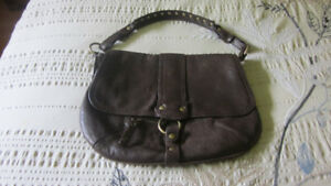 Women's Danier Brown Leather Purse