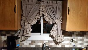custom curtains washable