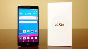"""In the box 5.5"""" UNLOCKED LG G4 with many accessories"""