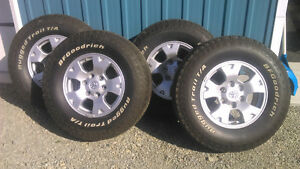 Toyota Tacoma TRD OffRoad OEM Wheel set-Like New