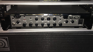 Ampeg Svt 6 Pro + Cab Ampeg Classic 8x10 Made in USA