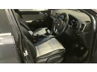 2017 Kia Sportage 1.6 GT-LINE 5d-1 OWNER FROM NEW-HEATED TWO TONE LEATHER-BLUETO
