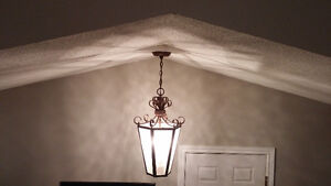 Entry or dining room ceiling light