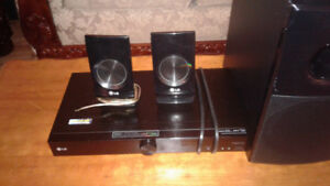 L.G home surround sound speaker system
