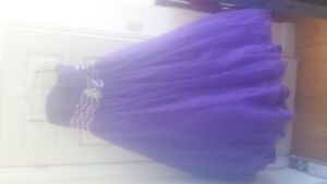 Beautiful Prom Dress bought at Carousel Bridal in Rothesay.