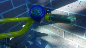 Bike (new bicycle for boy, 2-4yrs) with bell and helmet