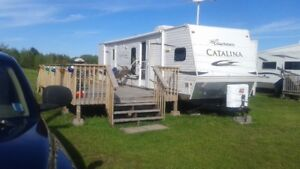 2011 Catalina by Coachman with 2 slideouts