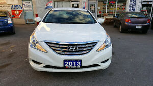 2013 HYUNDAI SONATA GLS SEDAN LOADED 83KM FINANCING WARRANTY