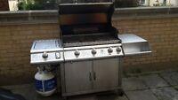 Stainless Steel 5 Burner BBQ
