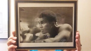 Muhammad Ali personally signed picture