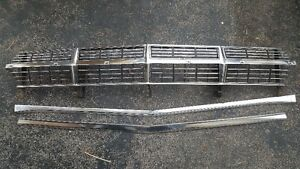 Grille and Bars for 67 Fairlane Decent Condition