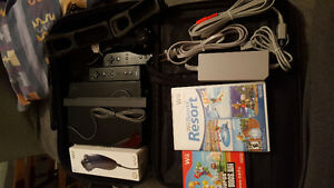 Black Wii Console Package