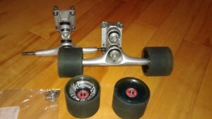 Longboard truck sector 9 double bushing