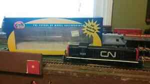 Ho locomotive, engines, model train