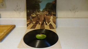 THE BEATLES ABBEY ROAD APPLE RECORDS SO-383 1969