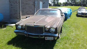 1977 Chrysler Cordoba T Top 440 4bbl (NOT RUNNING) will accept r