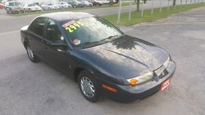 SATURN SL 4 DOOR SEDAN *** LOW KIM *** CERTIFIED $2995