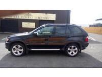 "BMW X5 3.0D SPORT 5 DOOR AUTOMATIC 4x4 2003 ""53"" REG 127,000 MILES"