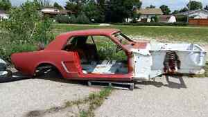 1965 Mustang project car