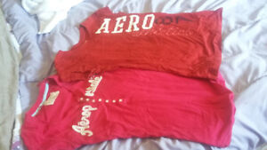 Women's T shirts size small to medium. AE, Aero and more