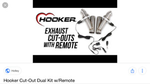 Hooker trappe exhaust double