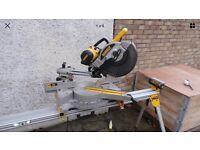 Dewalt DW717 xps-lx chop saw with stand
