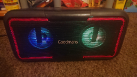 High power bass party speaker