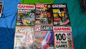 Old Pc Gaming magazines