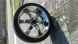 24 boss rims and tires
