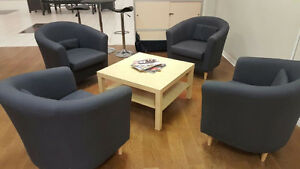 Chair and coffee table set