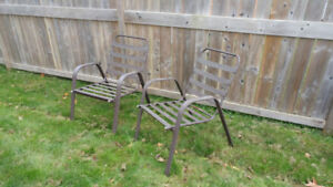 Two Patio Chairs for Sale