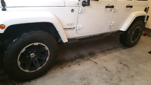 Jeep mags and tires