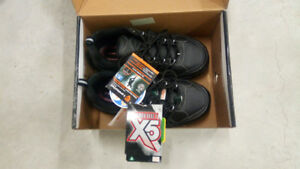 Workload Mens Norseman Safety Work Shoes Size 6 Mens. New In Box