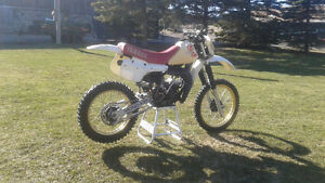 1982 yz125 and parts bike for trade